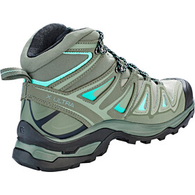 Salomon X Ultra 3 Mid GTX Shoes Women shadow/castor gray/beach glass
